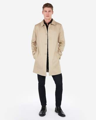 Express Water-Resistant Tech Trench Coat