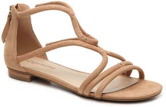 Women's Pierre Flat Sandal -Black $70 thestylecure.com