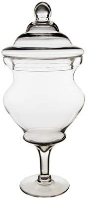 CYSExcel Large Candy Buffet Apothecary Jar