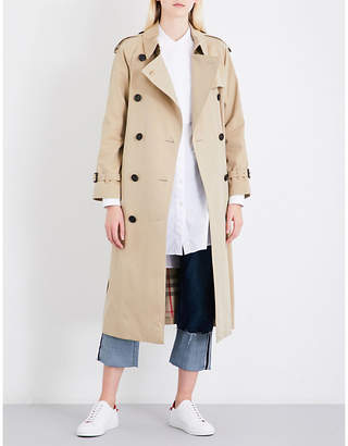 Burberry Ladies Honey Classic Westminster Cotton Trench Coat