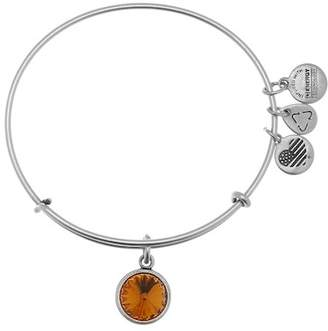 Alex and Ani November Birthstone Expandable Bangle