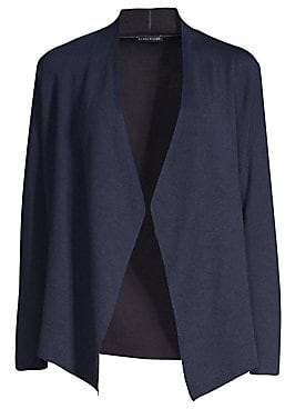 Eileen Fisher Women's Shaped Open Front Cardigan