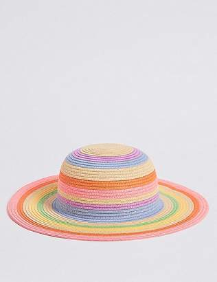 Marks and Spencer Kids' Straw Floppy Hat (6 Months - 6 Years)