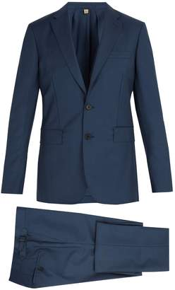 Burberry Soho wool and mohair-blend suit