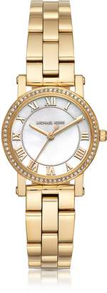 Michael Kors Petite Norie Gold-tone Stainless Steel Women's Watch