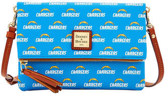 Dooney & Bourke NFL Chargers Foldover Crossbody