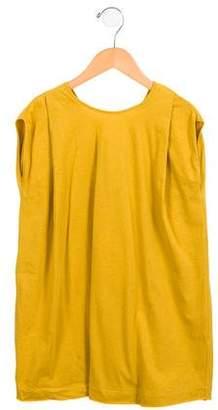 Tia Cibani Girls' Ribbon-Accented Tunic Dress w/ Tags