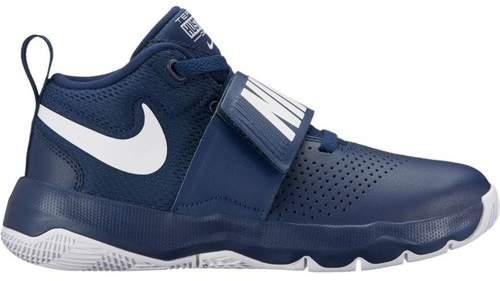 Boys' Team Hustle D 8 (GS) Basketball Shoe 881941 402 AZUL