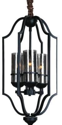 Charlton Home Doran 3-Light Lantern Pendant Charlton Home