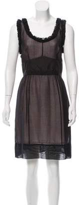 Louis Vuitton Sleeveless Silk Dress