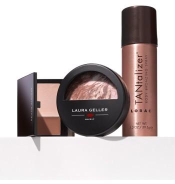Laura Geller Beauty 'Bronze-N-Brighten' Baked Color Correcting Bronzer - Fair