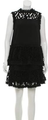 Alexis Embroidered Mini Skirt Set