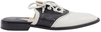 Altuzarra Ecru Leather Flats