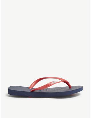 3e125dac9e8910 at Selfridges · Havaianas Slim rubber flip-flops