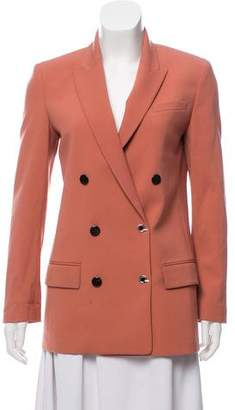Alexander Wang Virgin Wool-Blend Double-Breasted Blazer