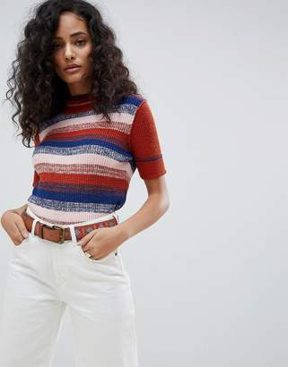 Free People Best Intentions Short Sleeve Jumper