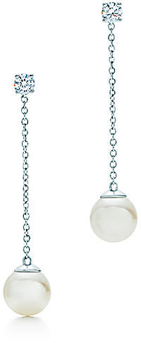 Tiffany & Co. Signature™:Pearl Drop Earrings
