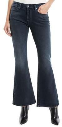 Levi's LMC Stems Mid-Rise Five-Pocket Flared-Leg Jeans