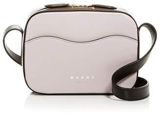 Marni Color-Block Leather Mini Camera Bag