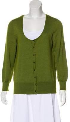 Oscar de la Renta Cashmere Silk Sweater