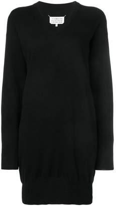 Maison Margiela classic fitted sweater dress