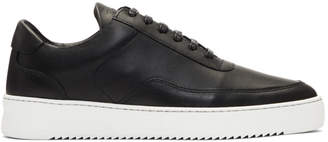 Filling Pieces Black Low Mondo Ripple Sneakers