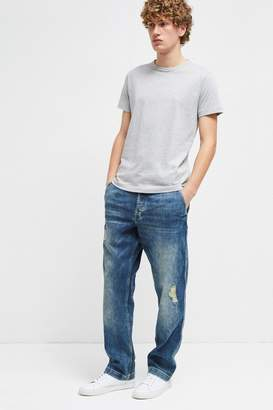 French Connenction Track Denim Loose Fit Jeans