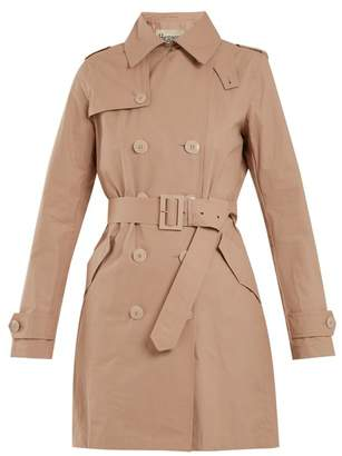 Herno (ヘルノ) - HERNO Double-breasted cotton-blend trench coat