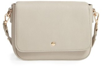 Bp. Studded Faux Leather Crossbody Bag - Beige $45 thestylecure.com