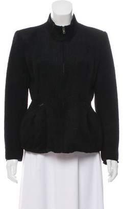 Theyskens' Theory Standup Collar Zip-Up Jacket