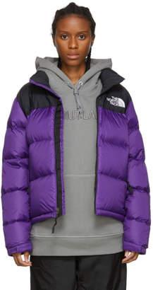 The North Face Purple and Black Down 1996 Retro Nuptse Jacket