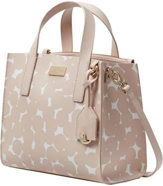 Kate Spade new york Putnam Drive Splodge Dot Anissa Leather Handbag Women's Satchel