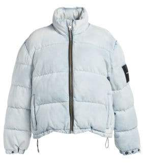 Alexander Wang Denim Puffer Jacket