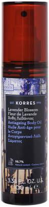 Korres Natural Anti-Ageing Lavender Blossom Body Oil 100ml