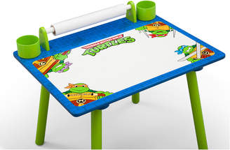 Nickelodeon Delta Teenage Mutant Ninja Turtles Art Desk W/ Dry-Erase Tabletop & Chair
