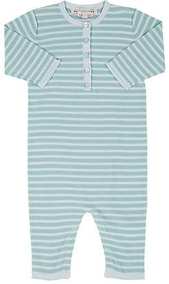 Bonpoint Infants' Striped Knit Cotton Coverall