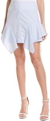 BCBGMAXAZRIA Handkerchief Mini Skirt