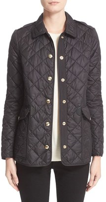 Women's Burberry Westbridge Quilted Jacket $695 thestylecure.com