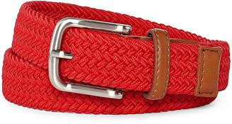 Izod Red Stretch Web Belt - Boys 4-20