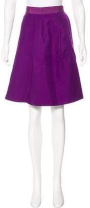 Giambattista Valli Silk Knee-Length Skirt