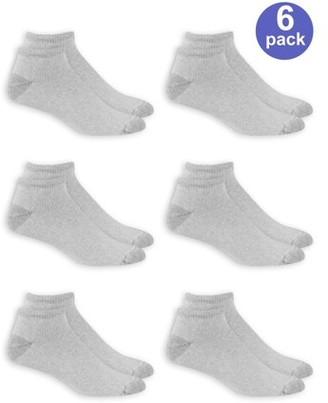 Athletic Works Men's Low Cut Socks 6-Pack