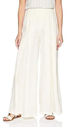 XCVI Women's Basil Pant Linen 101 Solid