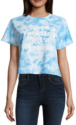 Freeze Need a Vacation Cropped Tee - Junior