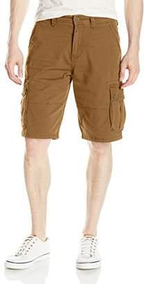 Southpole Men's Mini Canvas Cargo Shorts
