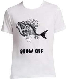 Vilebrequin Prehistoric-Fish Graphic T-Shirt