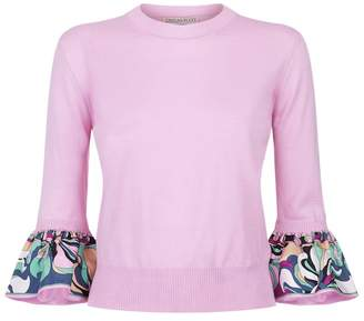 Emilio Pucci Fluted Sleeve Sweater