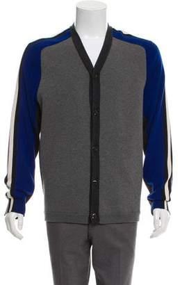 Marni Wool-Blend Colorblock Cardigan