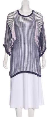 MM6 MAISON MARGIELA Short Sleeve Knit Top