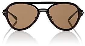 Prada Men's Aviator Sunglasses-Gold