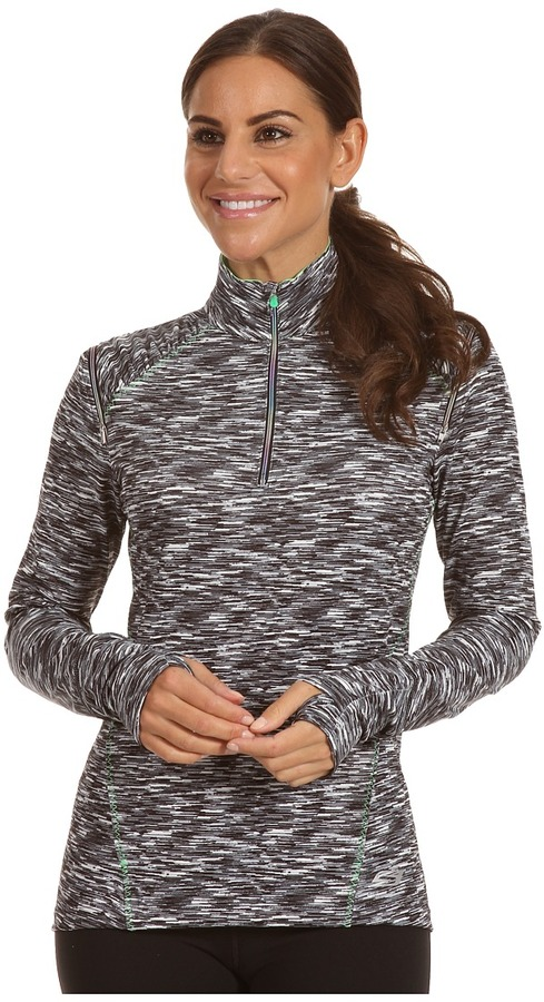 Skechers 1/4 Zip Space Dyed Mock Pullover